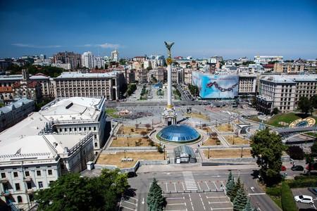 Maidan Nezalezhnosti (Independence Square), Kiev   ©Balazs Ari / Flickr
