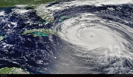 Hurricane Irma storm path   © NASA's MODIS/Terra satellite image/Flickr