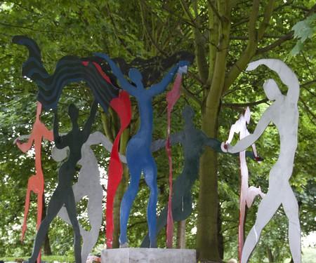 A sculpture by Gibraltarian artist Francis Gomila; Tony Hisgett/flickr