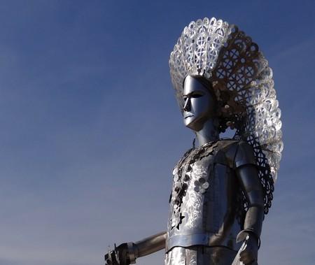 Statue of La Tehuana | © Adam Jones / Flickr