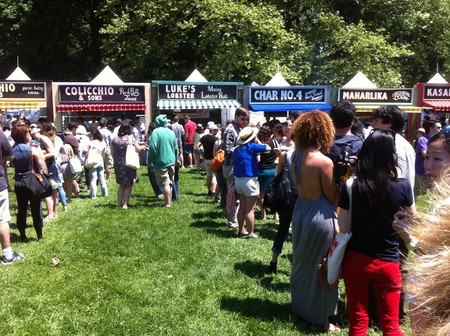 Lines for food stands at GoogaMooga 2012 / © Cristina Bejarano / Flickr