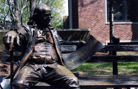 A statue of Benjamin Franklin   © Jason Murphy / Flickr