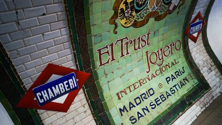Chamberí Metro Station |© Antonio Tajuelo / Flickr