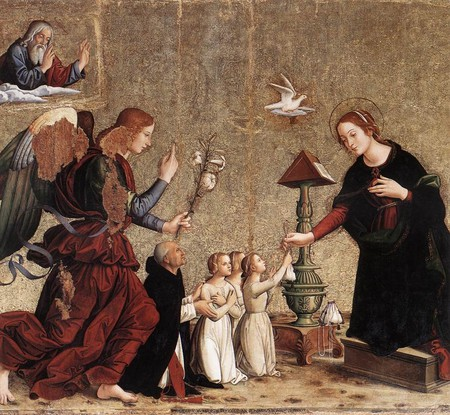 Annunciation by Antoniazzo Romano | WikiCommons