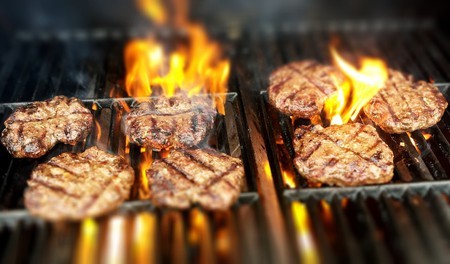 Hamburgers on the Grill | © Pexels / Pixabay