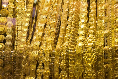Emirati brides will always cover herself with gold and jewelry