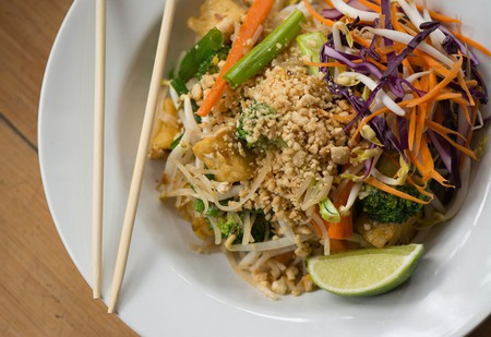 Pad Thai at Green Elephant
