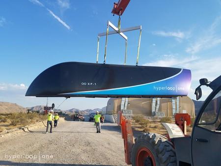 Hyperloop One XP-1 Pod | Courtesy Hyperloop One