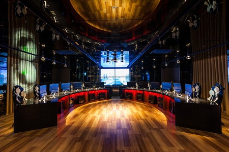 The gaming arena | Courtesy of i hotel
