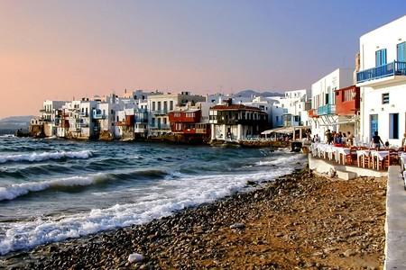 View of Little Venice, Mykonos