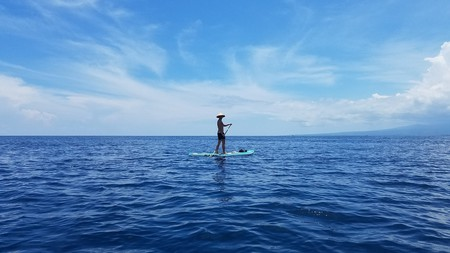 Stand-Up Paddling in Gili Islands