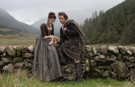 'Outlander's Claire and Jamie