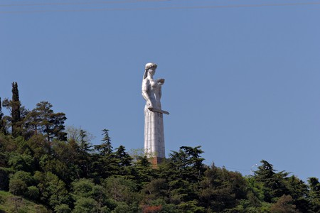 The Statue of Mother of Georgia