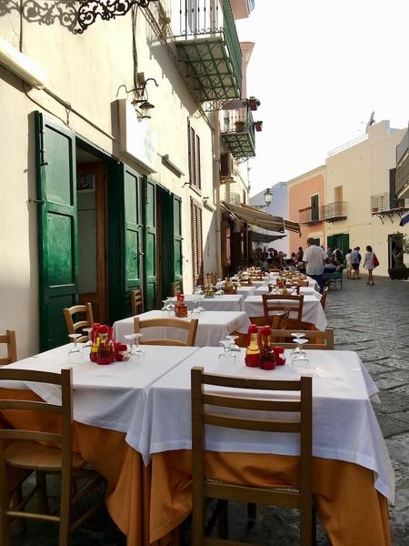 Restaurant - Ponza- Gillian Longworth McGuire