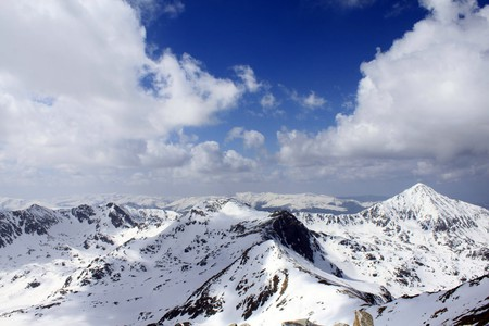 Retezat Mountains in winter | © Casa Costa-Foru / Flickr