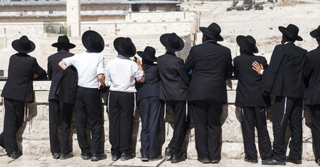 It's important to dress modestly when visiting religious sites such as the Western Wall