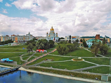Pushkin's Park in Saransk |© WildBoar / WikiCommons