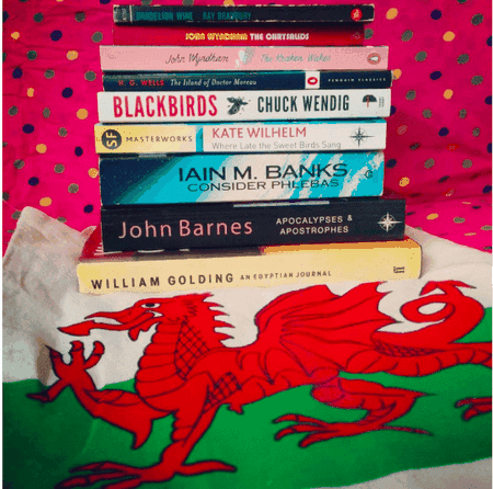 Pick up some books in Cardiff © wendleness/Instagram