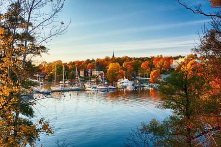 An autumn view on Waldemarsudde bay in Stockholm, Sweden | © Viacheslav Savitskiy/Shutterstock