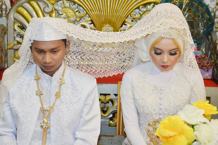 Indonesian marriage | © antoni halim/Shutterstock