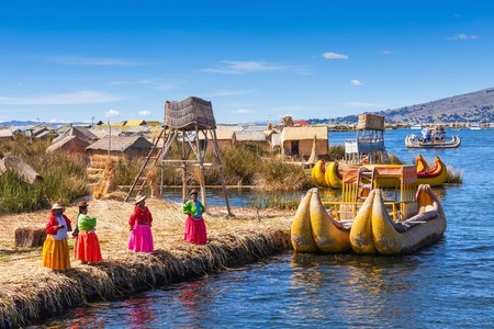 Uros floating islands | ©  saiko3p / Shuterstock