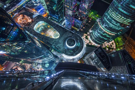 Moscow at night | © Pavel L Photo and Video / Shutterstock