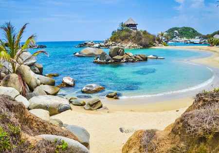 Tayrona national park in Colombia | © Olga Kot Photo / Shutterstock