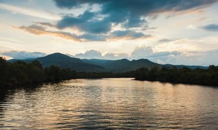 Enjoy the views across Kampot River