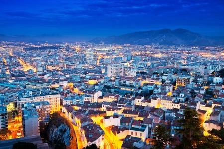 Marseille at dusk | © Thomas La Mela/Shutterstock