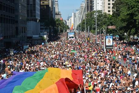 São Paulo LGBT Pride Parade 2014   © Ben Tavener / Flickr