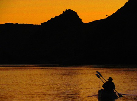 Canoeing down the Orange River is one of the most recommended adventure activities in South Africa | Courtesy of Kalahari Adventures