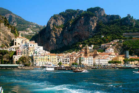 The town of Amalfi as seen from the water©BossTweed:Flickr