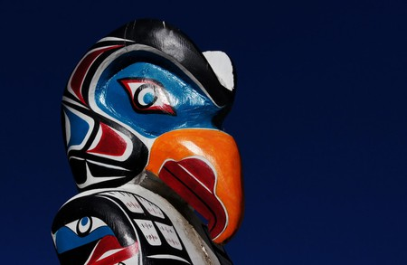 A totem pole | © Bernard Spragg. NZ / Flickr