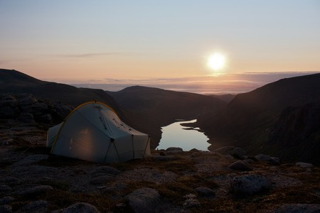 Wild Camping above Loch Avon in the Cairngorms | Nick Bramhall/Flickr
