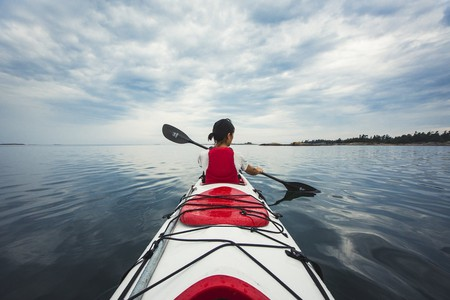 Kayaking in Georgian Bay | © OTMPC