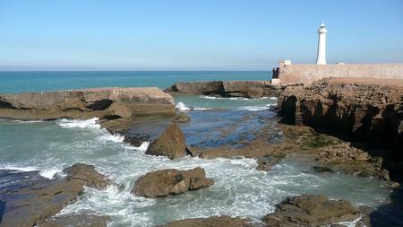 Rabat lighthouse next to the rocks | © Pline/WikiCommons