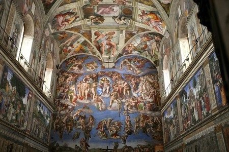 The Sistine Chapel is the subject of a new immersive live show | © WikiCommons