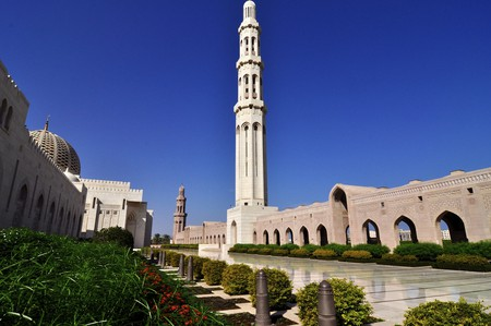 The Sultan Qaboos Grand Mosque | © Dan/Flickr