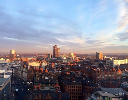 Romantic view over Manchester   © Stacey MacNaught / Flickr