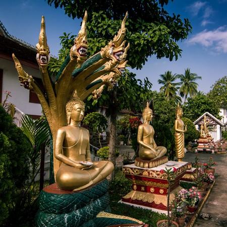 Temple in Luang Prabang | ©Guilhem de Coomen/Flickr