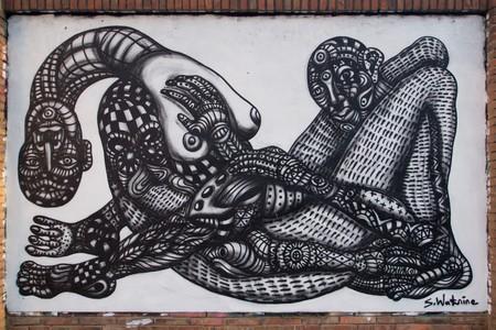 Street art in Poblenou © Victoriano Javier Tornel García