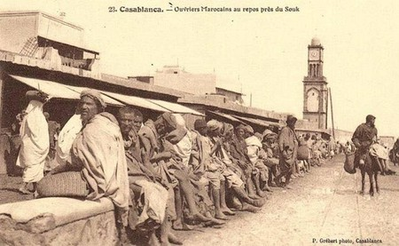 Construction of Casablanca