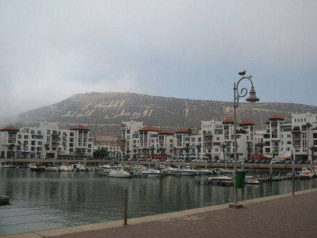 Agadir hill and harbour | ©  Grigory Gusev / Flickr