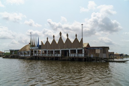 Store and casino at Ganvie, Benin | © Dan Sloan / Flickr