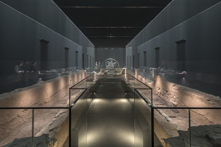 The London Mithraeum is a Roman Mithraic temple