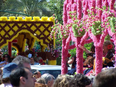 Córdoba's Battle of the Flowers festival; pedronchi/flickr