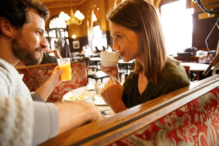 Man and woman on a date | © Vienna Tourist Board