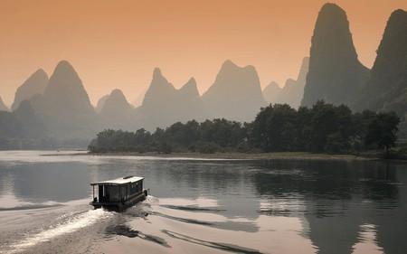 Limestone Karsts on Li River | © 一元 马