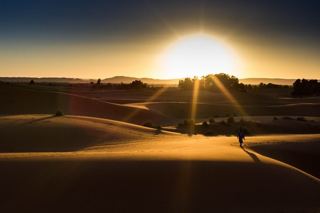 Sunset over the stunning Sahara Desert | © Christopher L. / Flickr