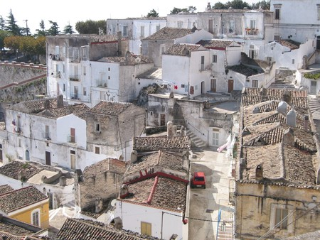 The town of Candela is an hour's drive from the Gargano (pictured) - the spur of Italy's boot | © Roberto Ferrari/Flickr